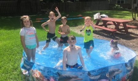 Summer Camp Water Day