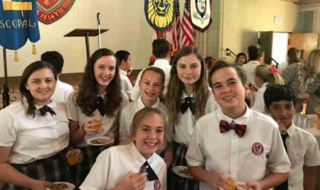 Episcopal Schools Celebration at St. John's Cathedral in Downtown Jacksonville