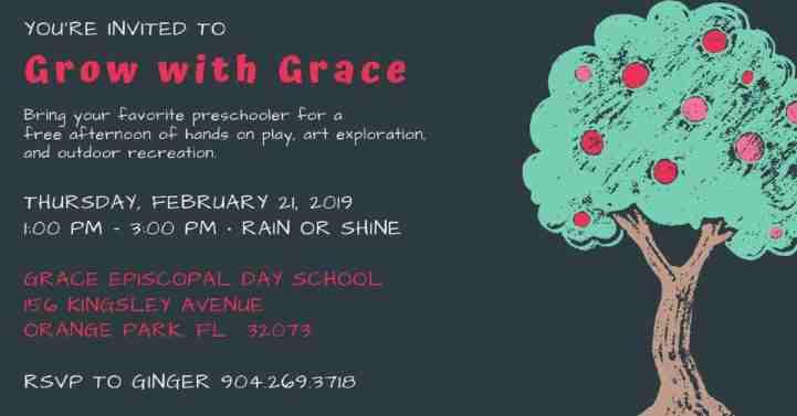 Invitation to Preschool Open House