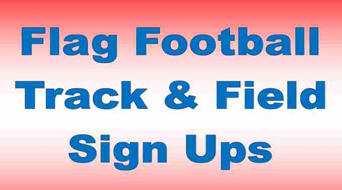 Track and Flag Football Signup