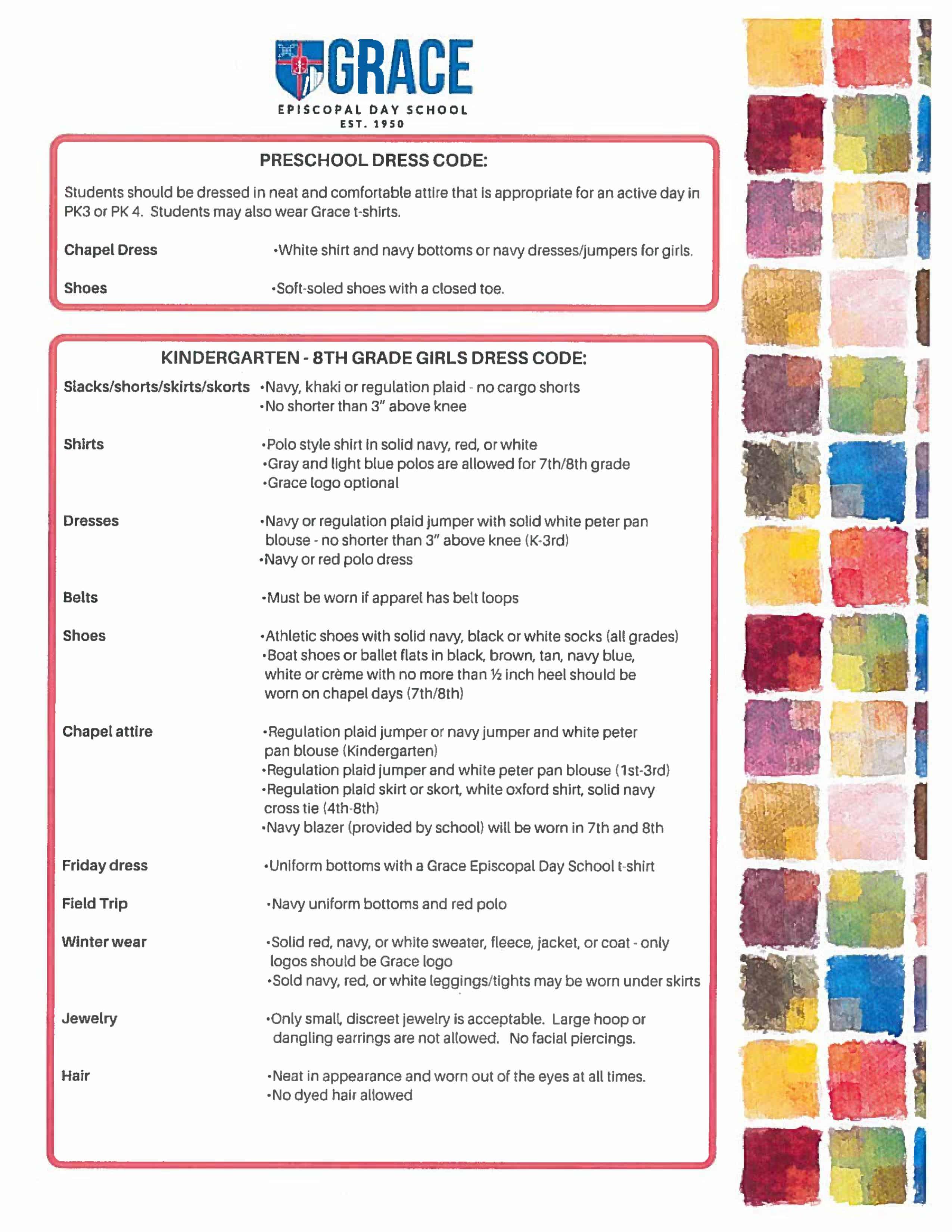 Dress Code Page 1