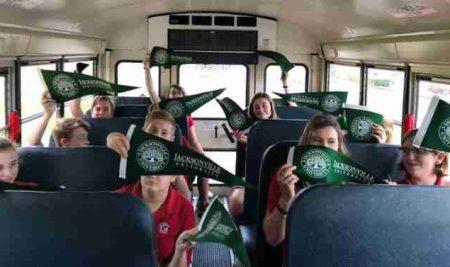 Middle School Students Visit JU