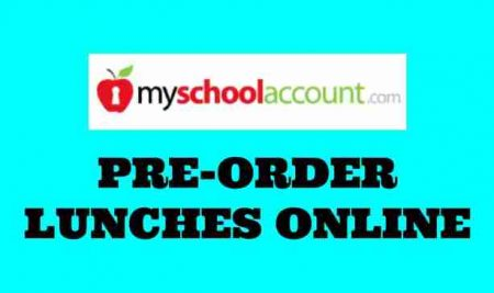 New Online Lunch Pre-Order Service!