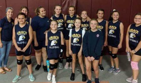 Girls Volleyball Team Wins Over Christ's Church Academy!