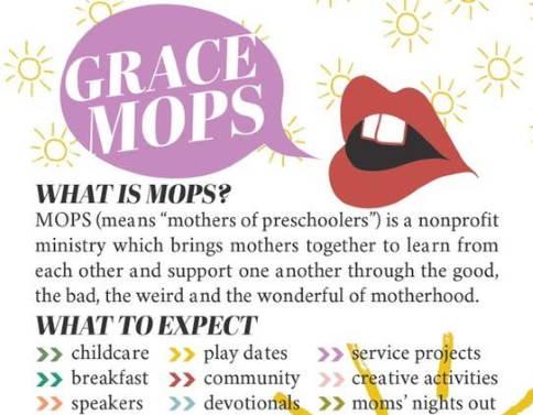 Grace MOPS brochure