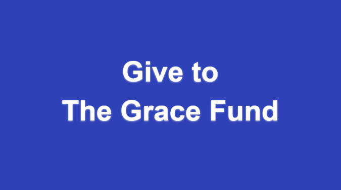 Give to the Grace Fund text