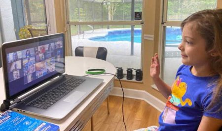 Grace Families Embrace Remote Learning