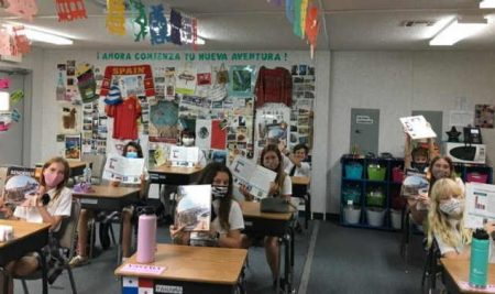8th Graders Excited About New Spanish Curriculum