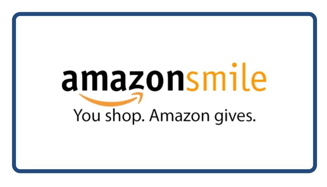 Amazon Smile Logo. You shop. Amazon gives.