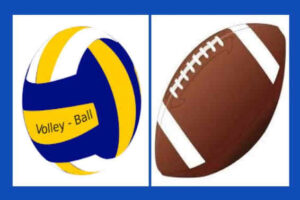Football Volleyball Blue Bkgrnd_566X377