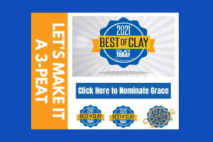 Best of Clay on Blue Bkgrnd