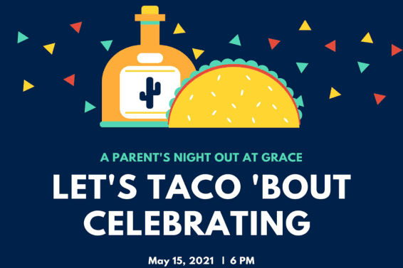 Parents Night Out Taco Night flyer