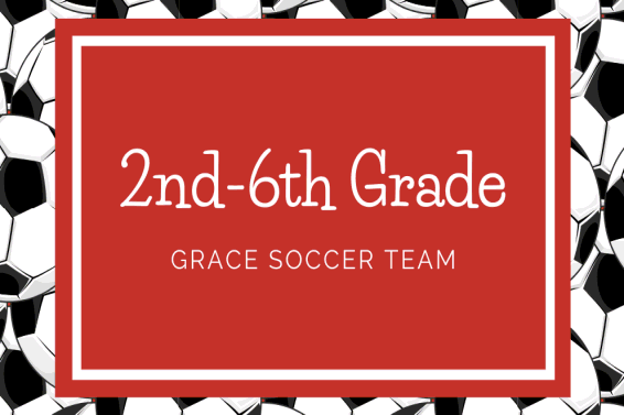 2nd - 6th Grade Soccer graphic