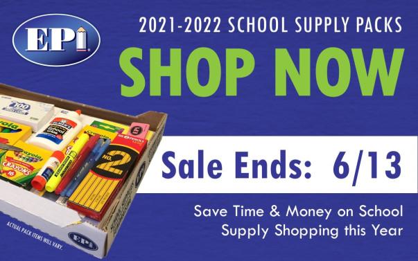 School Supplies flyer