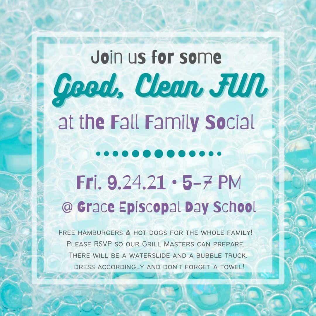 Fall Family Social Flyer